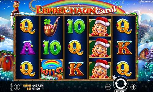 Leprechaun Carol free slot