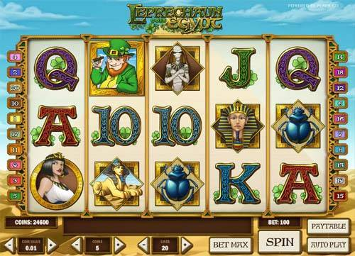 Leprechaun Goes Egypt free slot
