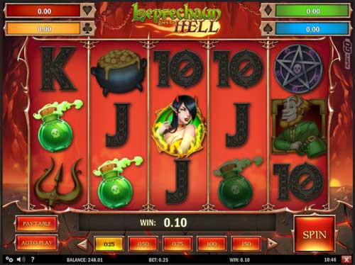 Leprechaun Goes to Helljackpot slot