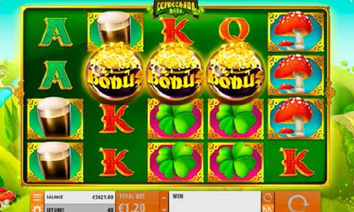 Leprechaun Hills casino slot