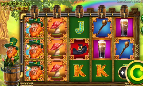 Leprechauns Lucky Barrel free slot