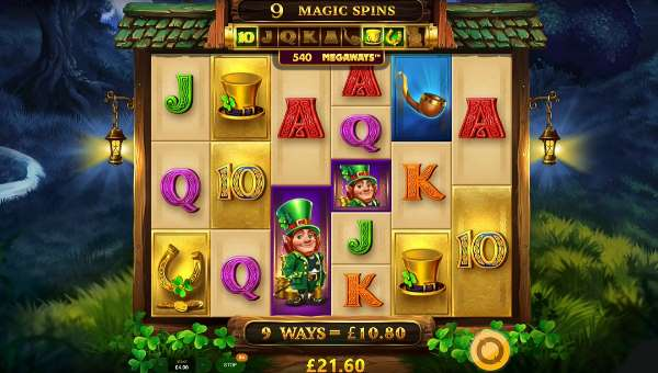 Leprechauns Magic Megaways free slot