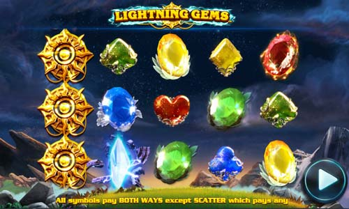 Lightning Gems slot