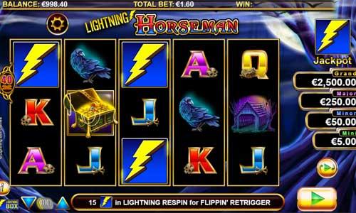 Lightning Horseman free slot