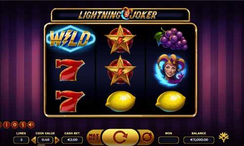 Lightning Joker free slot