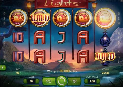 Lights free slot