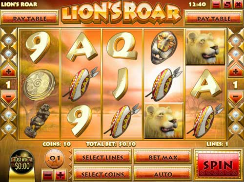 Lions Roar free us slot