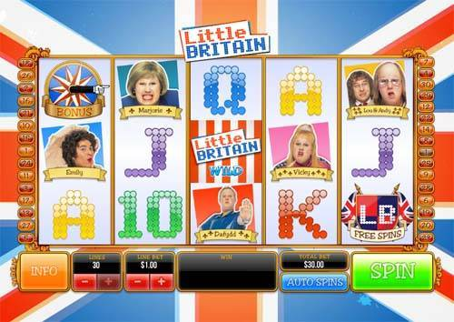 Little Britain free slot