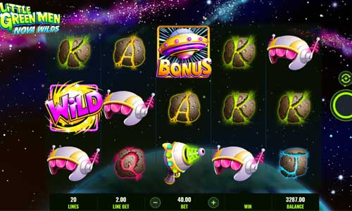Little Green Men Nova Wilds free slot