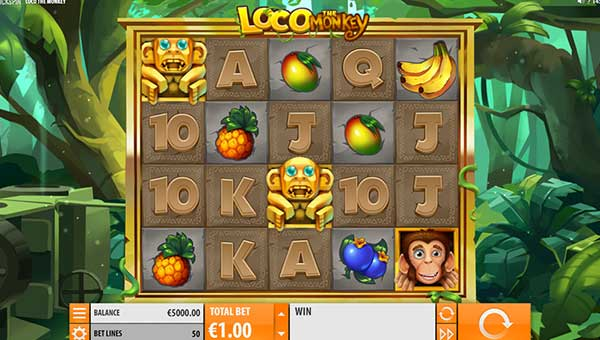 Loco the Monkey new slot