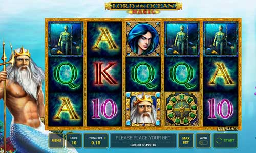 Lord of the Ocean Magic casino slot