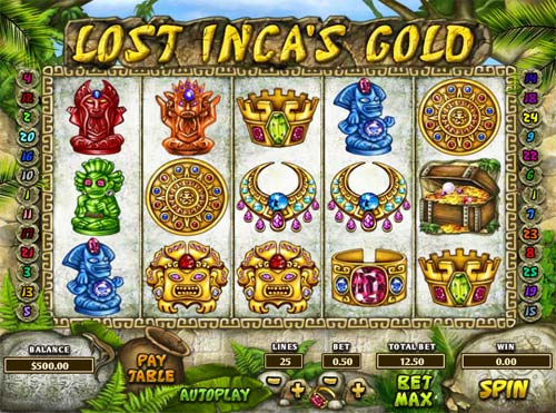 Lost Incas Gold free slot