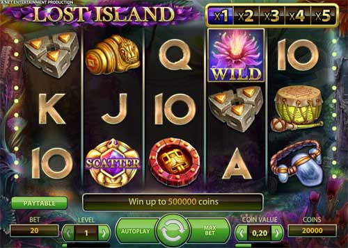 Lost Island casino slot