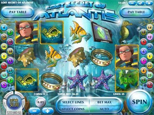 Lost Secret of Atlantis free slot
