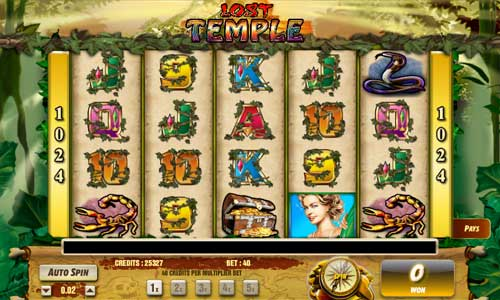 Lost Temple free slot