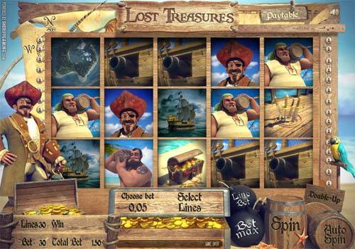 Lost Treasures free slot