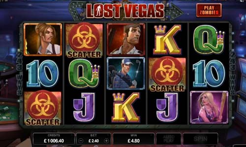 Lost Vegas free slot