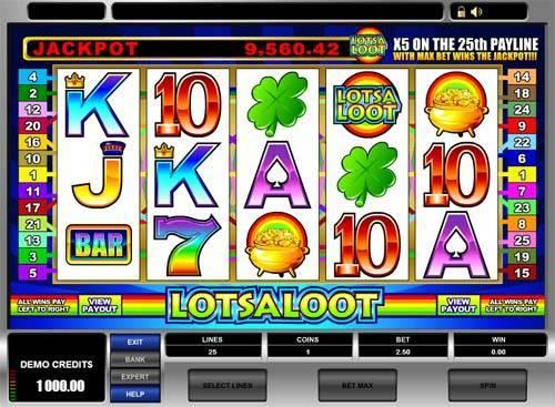 LotsaLoot free slot