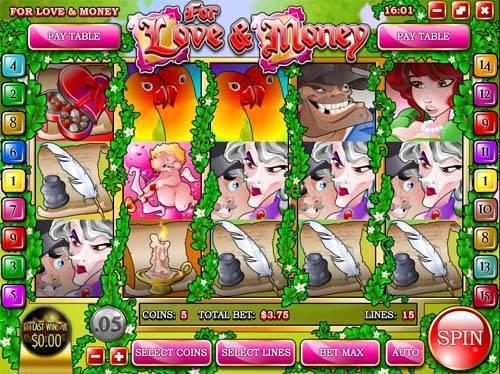 Love and Money free slot