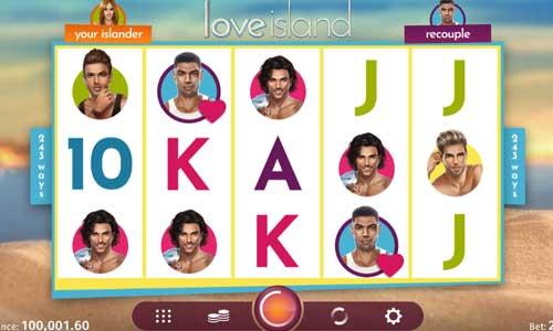 Love Island free slot