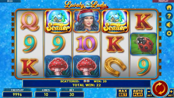 Lovely Lady Xmas slot