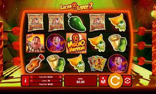 Lucha Libre 2 free slot