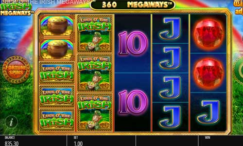 Luck O the Irish Megaways free slot