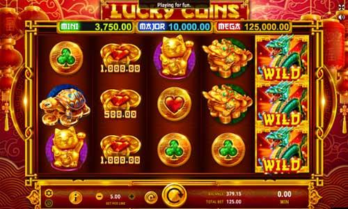 Lucky Coinscolossal symbols slot