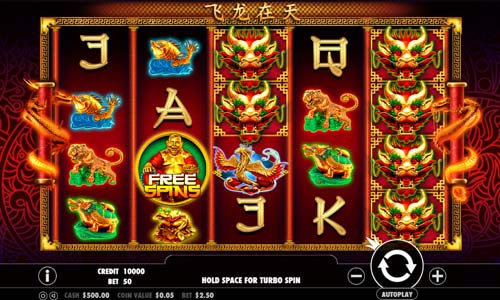 Lucky Dragons free slot