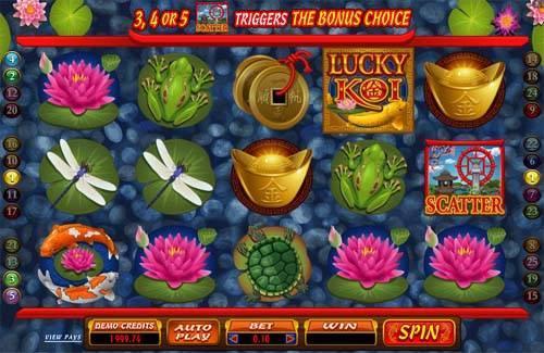 Lucky Koi free slot