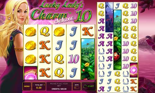 Lucky Ladys Charm Deluxe 10 free slot
