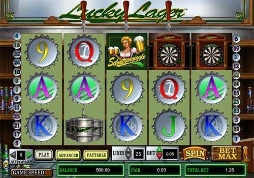 Lucky Lager free slot