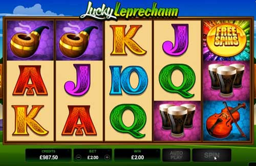 Lucky Leprechaun free slot