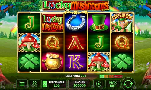 Lucky Mushrooms Deluxe free slot