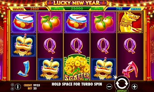 Lucky New Year free slot