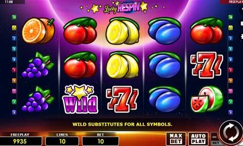 Lucky Respin free slot