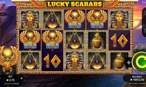 Lucky Scarabs free slot