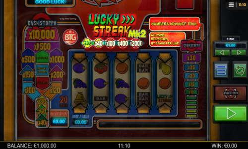 Lucky Streak Mk2 free slot