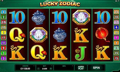 Lucky Zodiac free slot
