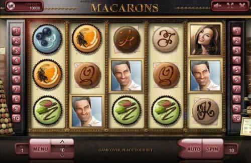 Macarons free slot