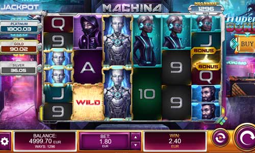 Machina Megawaysjackpot slot