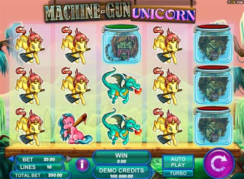 Machine Gun Unicorn free slot
