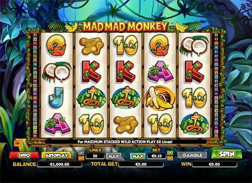 Mad Mad Monkey free slot