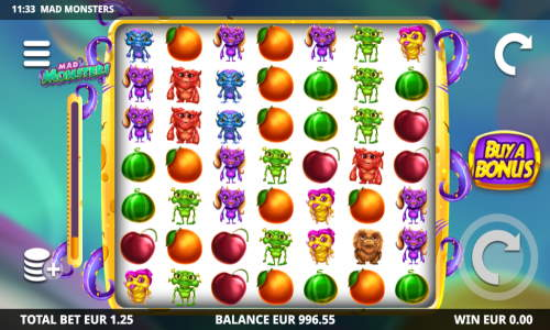Mad Monsters free slot