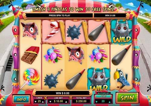 Mad Pinatas free slot