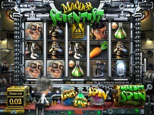 Madder Scientist free slot