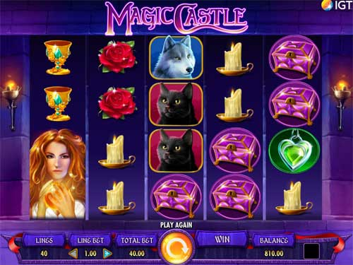 Magic Castle free slot