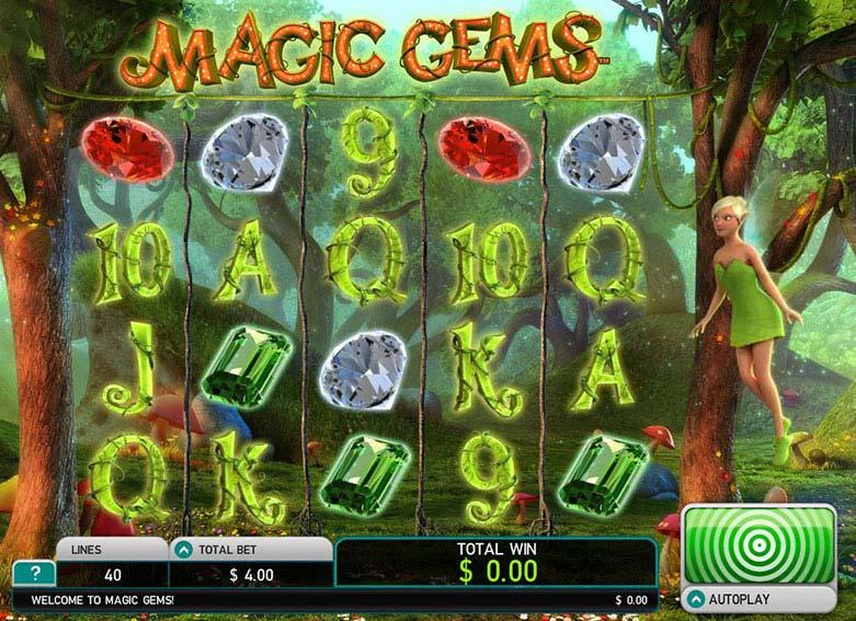 Magic Gems Deluxe free slot