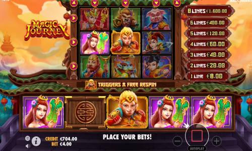 Magic Journey free slot