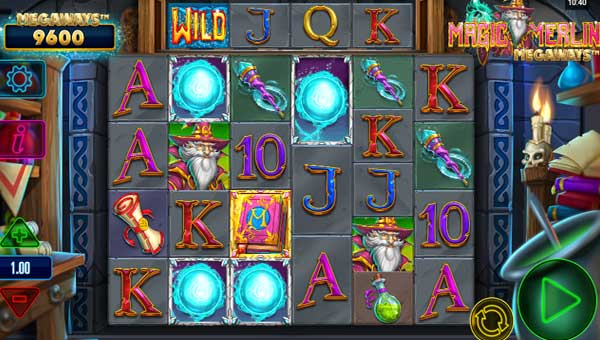Magic Merlin Megaways free slot